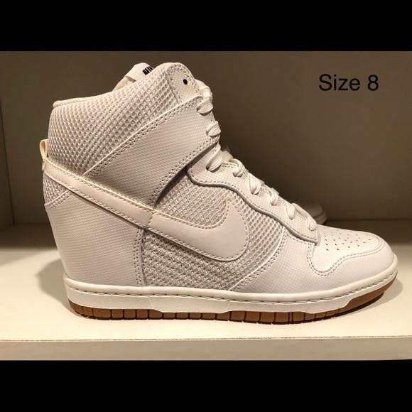 new product eff33 1d418 Women s Nike Dunk Sky Hi Mesh White. M 5ba742a22beb79f98991e60e